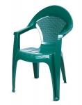 Кресло Барселона зеленое