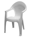 Кресло Барселона белое
