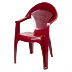 Кресло Барселона бордовое