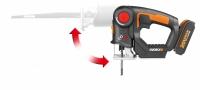 Лобзик-сабельная пила аккумуляторная Worx WX550.9 в Бресте