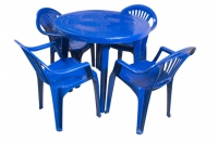 Набор мебели пластиковой Луч (стол круглый)