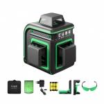 Лазерный нивелир ADA Cube 3-360 Green Home