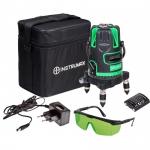 Лазерный нивелир Instrumax GREENLINER 4V