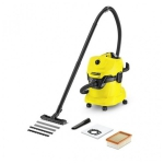 Пылесос сухой и влажной уборки Karcher WD 4