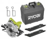 Пила циркулярная RYOBI RCS1600-KSR с направляющей