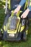 Аккумуляторная газонокосилка самоходная Ryobi RLM 36X41 H50P