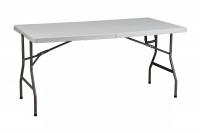 Стол складной 152*76*74, белый