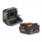 Аккумулятор AEG SET L1840S с зарядным устройством