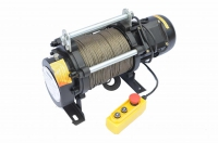 Лебедка электрическая Zitrek KCD-300/600/220v канат 60м