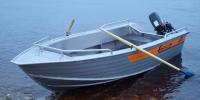 Лодка Вельбот алюминивая (моторно-гребная) Wellboat 42 в Бресте